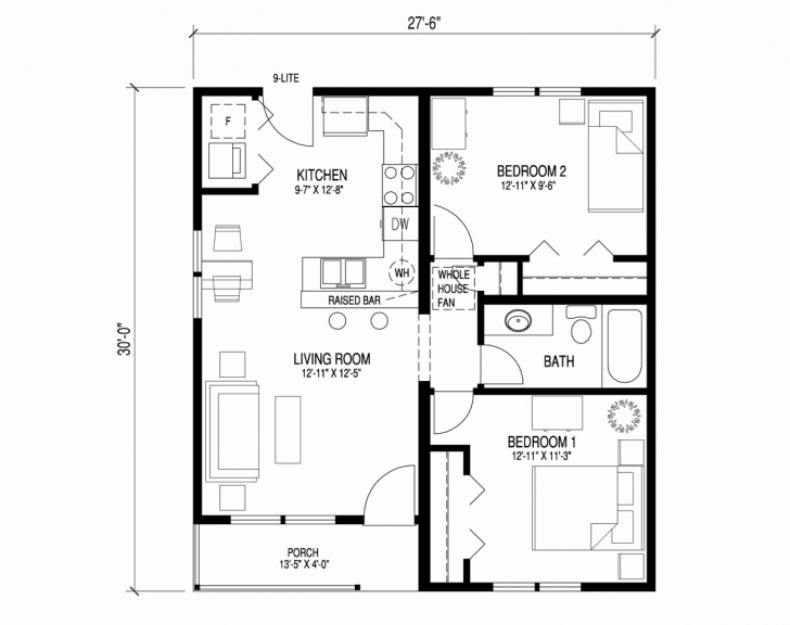Amazing 1 Bedroom House Plans Beautiful 1 Bedroom Home Floor Plans Unique One Bedroom House Plans Pic