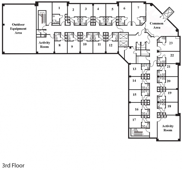 Amazing Assisted Living Floor Plans - Google Search | Floor Plan In 2018 Assisted Living Floor Plans Image