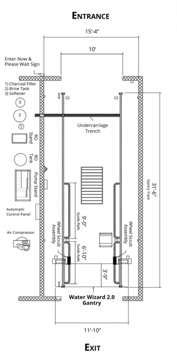 Amazing Car Wash Floor Plan Philippines Layout Automatic Business Water Car Wash Floor Plan Pic