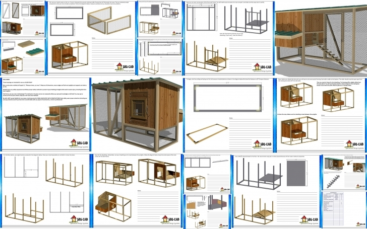 Amazing Cool Chicken Coop Plans Step By Step - Lucas Chicken Coop House Plans Image