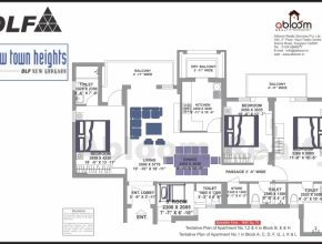 Amazing Dlf New Town Heights Sector 90 Floor Plan | Dlf New Town Heights Sector 90 Floor Plan Photo