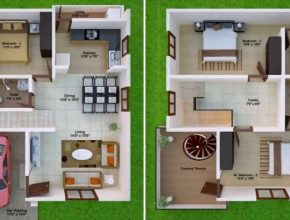 Amazing Duplex House Plans In India For 800 Sq Ft - Youtube Duplex House Plans Image