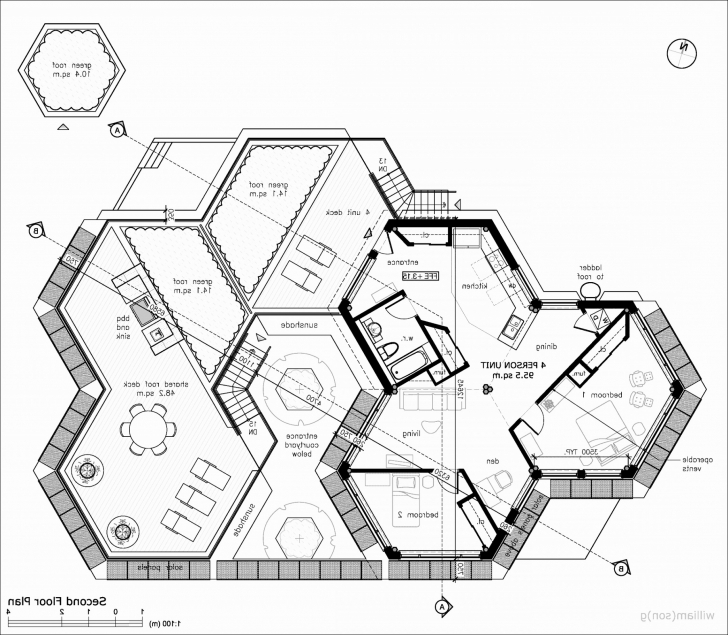 Amazing Hobbit Hole Floor Plan | Mkumodels Hobbit House Plans Pic