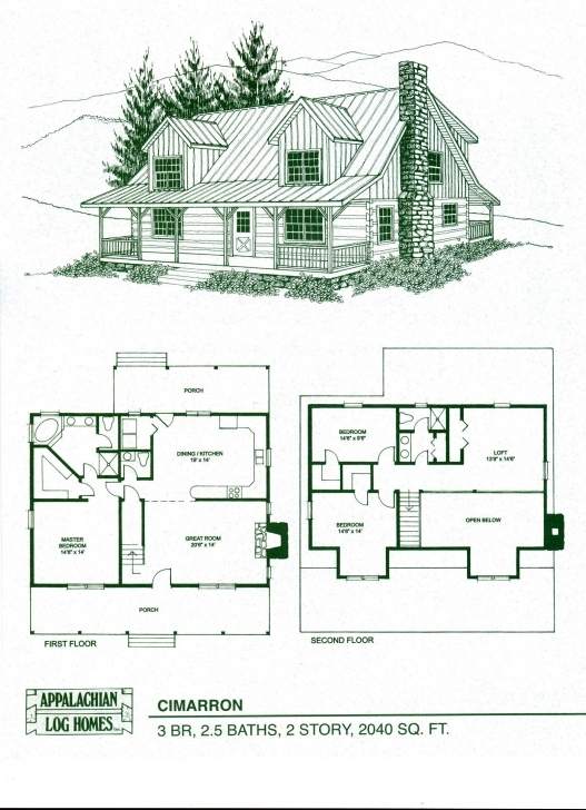 Amazing Log Home Floor Plans - Log Cabin Kits - Appalachian Log Homes Log Homes Floor Plans Picture