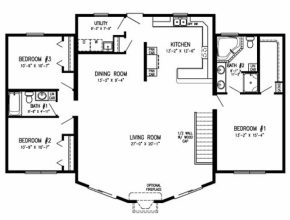 Amazing Modular Homes Open Floor Plans | Plougonver Floor Plans For Modular Homes Photo