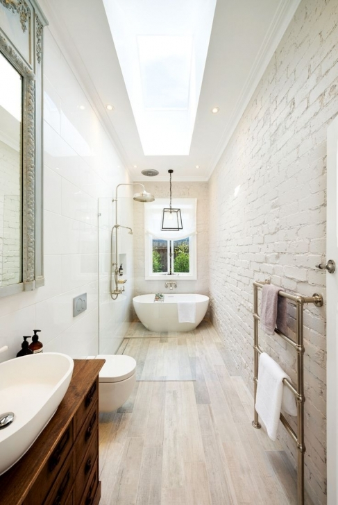 Amazing Wondrous Long Narrow Bathroom 65 Great Layout For A Long Narrow Long Narrow Bathroom Floor Plans Pic