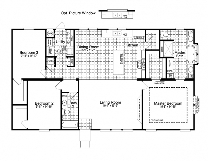 Astonishing 3Bed 2Bath Floor Plans New 3 Bedroom 2 Bath Floor Plans Unique 3bed 2bath Floor Plans Pic