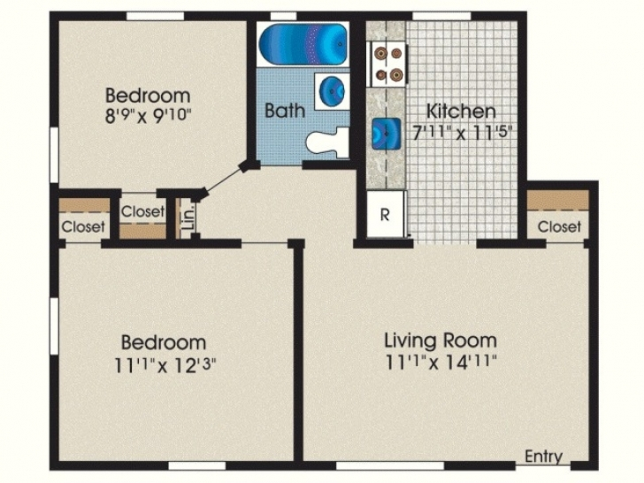 Astonishing 600 Sq Ft House Plans 2 Bedroom Indian Style Elegant 1000 Sq Ft 600 Sq Ft House Plans 2 Bedroom Image