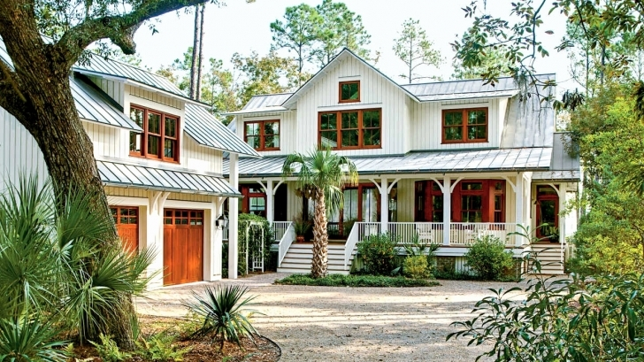 Astonishing Design Low Country House Plans With Detached Garage — Simple House Plans Low Country House Plans Image