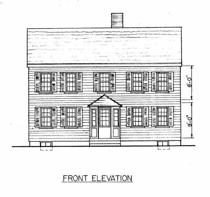 Astonishing Free Saltbox House Plans | Saltbox House Floor Plans Saltbox House Plans Image