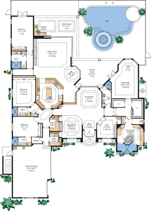 Astonishing Luxury Home Floor Plans House Plans Designs, Luxury Home Floor Plans Luxury House Plans Pic