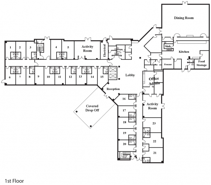 Astonishing Modular Assisted Living Floor Plans | Floor Plans And Flooring Ideas Assisted Living Floor Plans Image