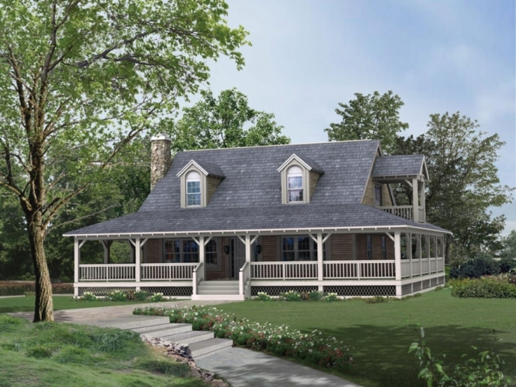 Astonishing Stunning Country House Plans With Wraparound Porch Concepts Country House Plans With Porches Pic