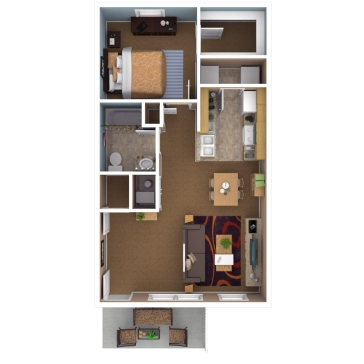 Awesome Apartments In Indianapolis | Floor Plans 1 Bedroom Apartment Floor Plans Pic