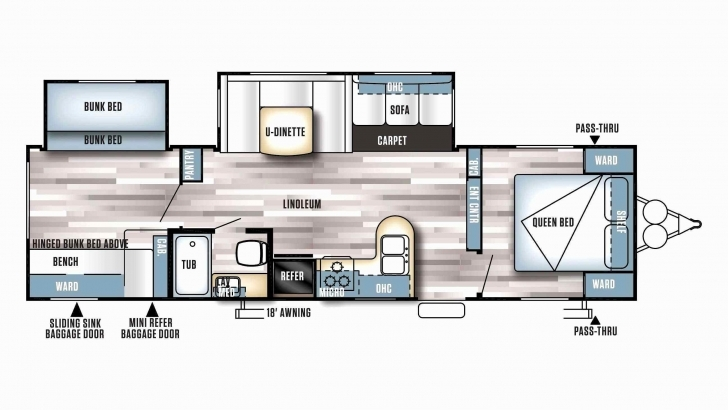 Awesome Bighorn Floor Plans Awesome 24 Awesome Fifth Wheel Rv Floor Plans Bighorn Floor Plans Photo
