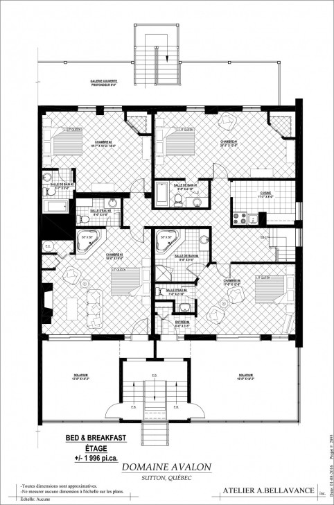 Awesome Floor Creative Bed And Breakfast Plans Simple Plan | Theworkbench Bed And Breakfast Floor Plans Image