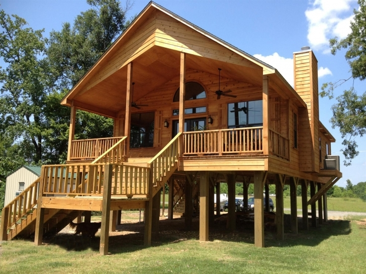 Awesome Live In A Flood Plain? No Problem. Build Your House On Stilts! | For House Plans On Stilts Picture