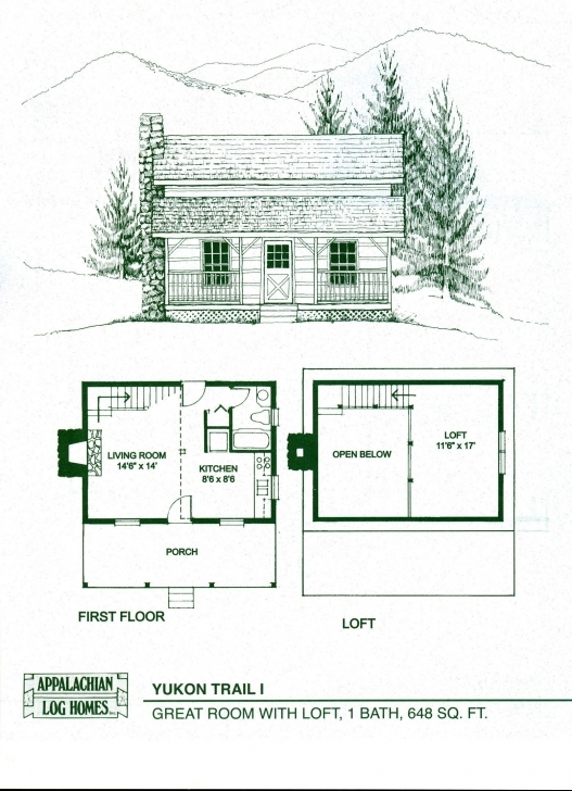 Awesome Log Home Floor Plans - Log Cabin Kits - Appalachian Log Homes Log House Plans Image