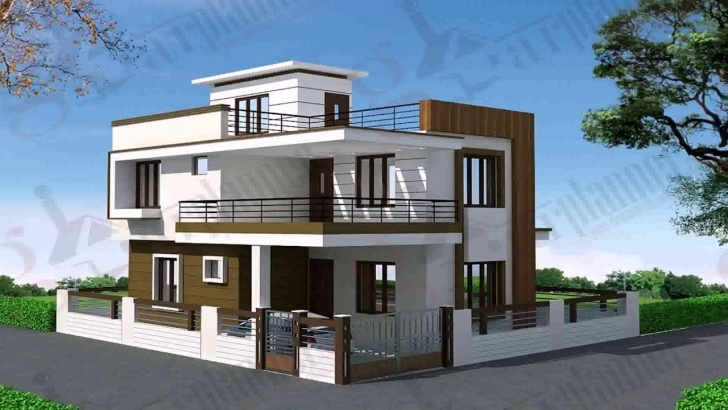 Awesome Modern Duplex House Design Pictures - Youtube Modern Duplex House Plans Image