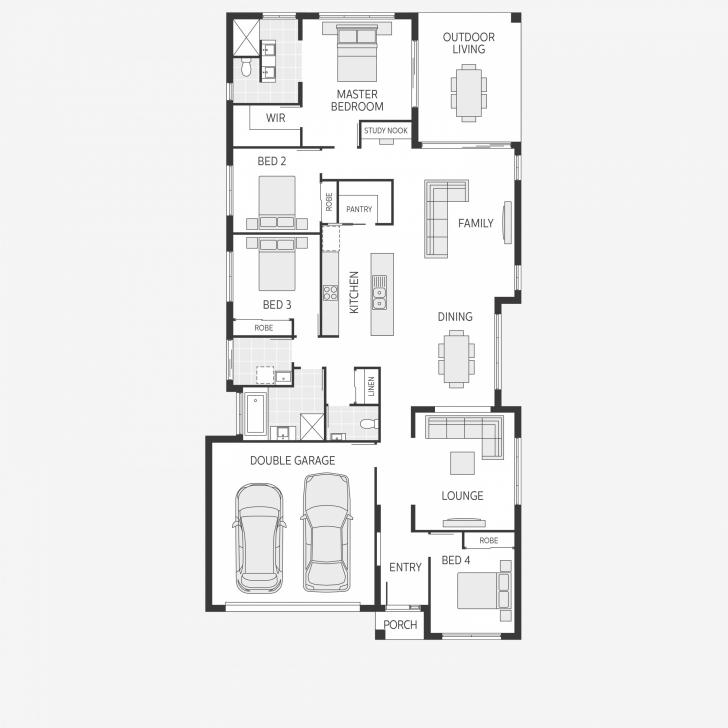 Awesome Noosa Series: The Coastal Lifestyle Coral Homes Floor Plans Picture