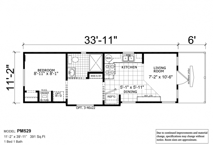 Awesome Park Model Rv / 529 By Athens Park Homes Park Model Rv Floor Plans Picture