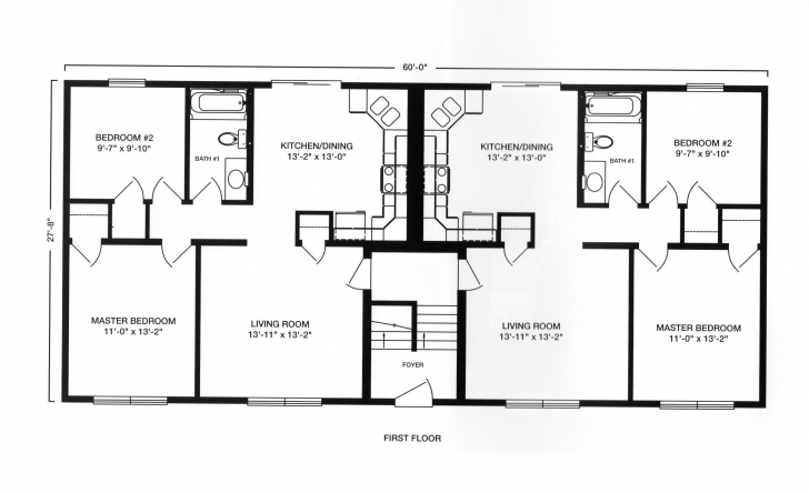 Awesome Prefab Duplex Floor Plans | Modular Duplex Modular Townhouse Modular Duplex Floor Plans Photo