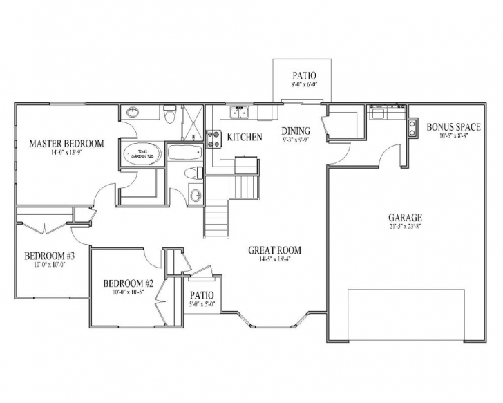 Awesome Rambler House Plans Pretentious Design 14 Images About On 5 Rambler Floor Plans Pic