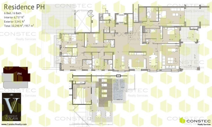 Awesome Residences At Vizcaya Floor Plans Vizcaya Floor Plan Image