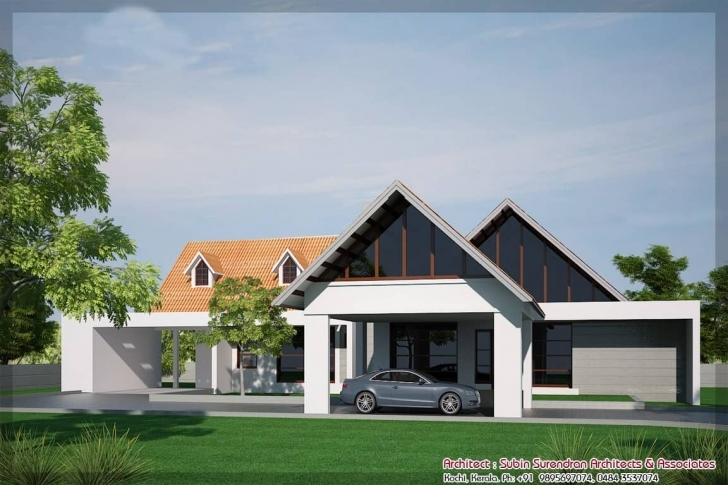 Awesome Single Floor House Designs - Kerala House Planner Kerala Single Floor House Plans Image