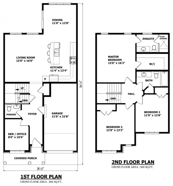 Awesome Small 2 Storey House Plans … | House Plans | Pinte… Two Story House Plans Picture