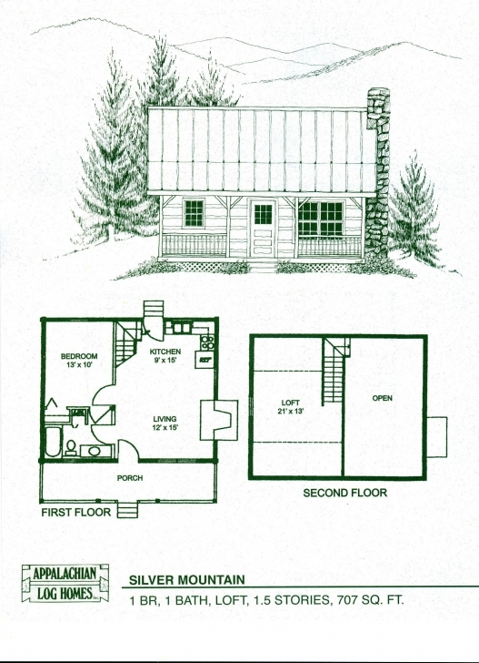 Awesome Small Cabin With Loft Floorplans | Photos Of The Small Cabin Floor Small House Plans Photo
