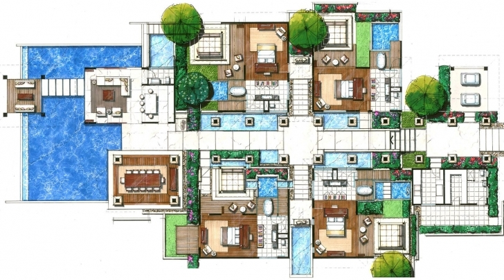 Awesome Villas Floor Plans |  Floor Plans Villas Resorts | Joy Studio Villa Floor Plans Pic