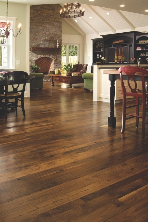 Awesome Walnut Flooring In An Open Concept Home | Flooring | Pinterest Wide Plank Walnut Flooring Photo