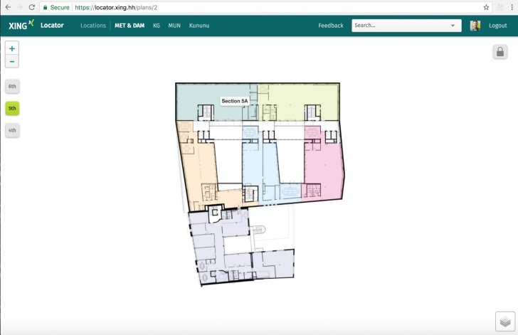 Awesome Xing Locator: An Interactive Floor Plan Using Rails And Leaflet.js Interactive Floor Plan Photo