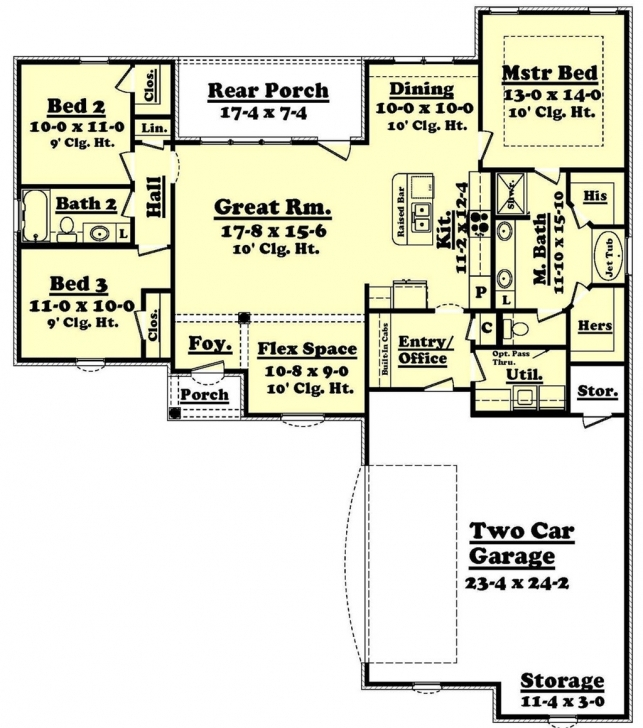 Best 1600 Sq Ft House Plans With 3 Car Garage Best Of European Style 1600 Sq Ft House Plans Pic