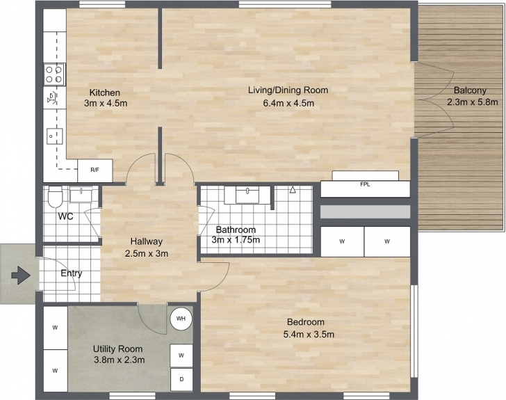 Best 2 Bedroom Floor Plans | Roomsketcher Floor Plans 2 Bedroom Picture