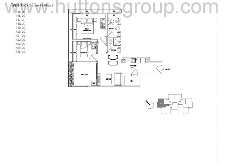 Best 2 Bedroom - Regent Residences Regent Residences Floor Plan Photo