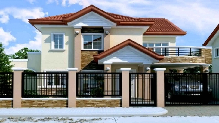 Best 2 Storey House Design With Floor Plan In The Philippines - Youtube House Designs Philippines With Floor Plans Pic