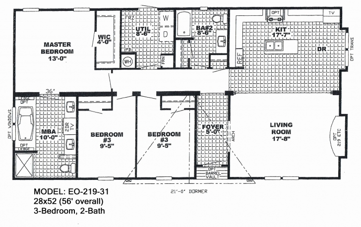 Best 4 Bedroom Double Wide Mobile Home Floor Plans Floor Plans For Mobile Double Wide Mobile Home Floor Plans Image