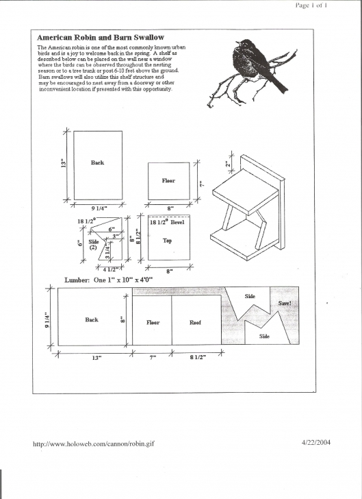 Best Cardinal Bird House Plans Learn About The Cardinal Their Mating Bird Houses Plans Picture