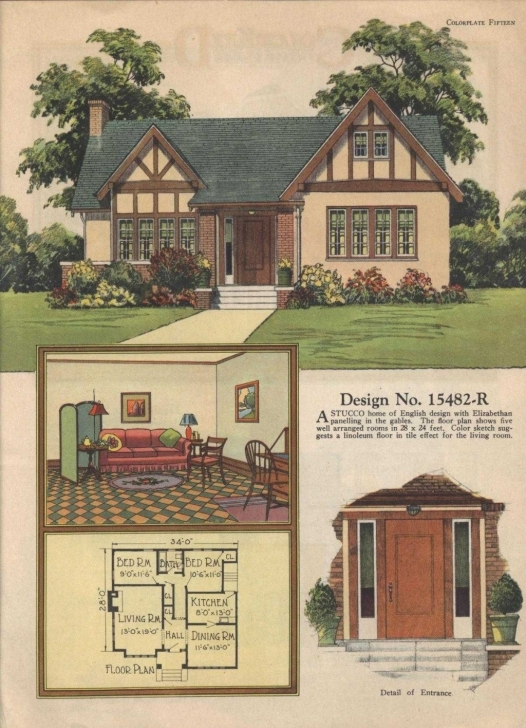 Best English Design: English Cottage Style Homes Elegant House Plan Small English Cottage House Plans Picture