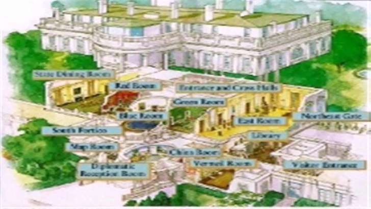 Best Floor Plan White House Blueprint - Youtube White House Floor Plan Image