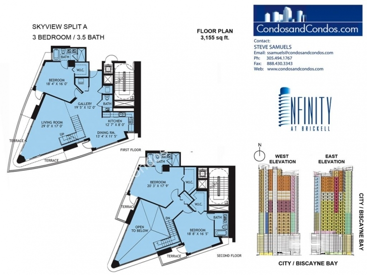 Best Infinity At Brickell Condos For Sale Brickell Miami Infinity Floor Plans Pic