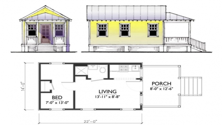 Best Little Homes Plans | Plougonver Little House Plans Image