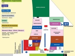 Best Mall Map | Pacific Mall Tagore Garden | Pacific India Pacific Mall Floor Plan Pic