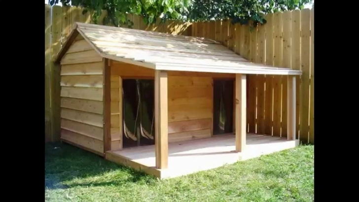 Best Modern, Creative Dog House Design Plans. Comfort For Dogs - Youtube Dog House Plans Pic