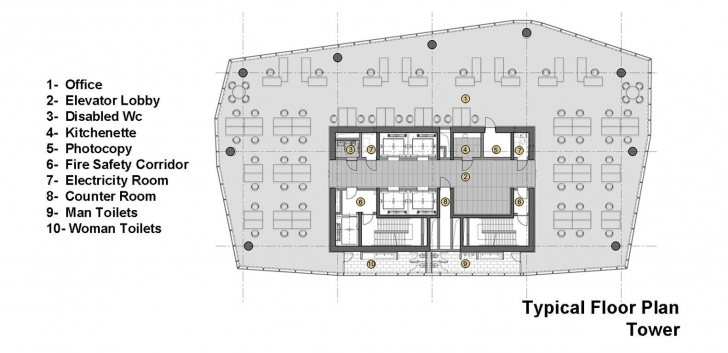 Best Office Tower Plan - Google 搜索 | Projects For Studio | Pinterest Office Tower Floor Plan Pic