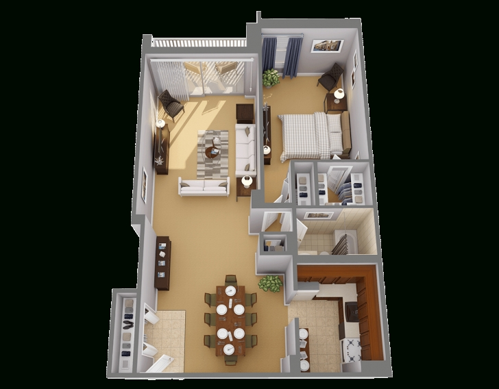 Best One Bedroom Apts In Chevy Chase, Md | Highland House Large One Bedroom Floor Plans Pic