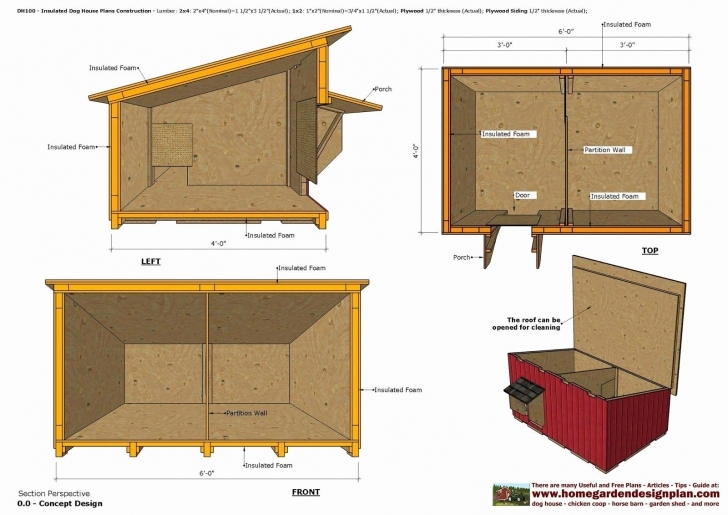 Best Perfect Design Insulated Dog House Plans Pdf Insulating A Dog House Insulated Dog House Plans Pic