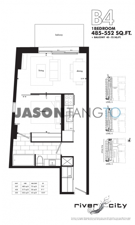 Best River City 47 Lower River 51 Trolley - Toronto Condos Lofts River City Floor Plans Photo